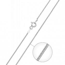 Stříbrný řetízek - had 0,9 mm, délka 42 cm