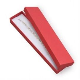 Dárková krabička na náramek červená