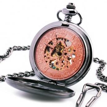 60747bff8 Mechanické kapesní hodinky otevírací - cibule Hodinky