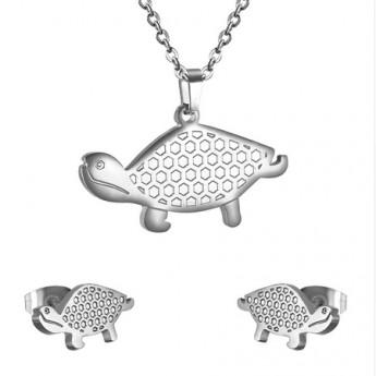 Set šperků z chirurgické oceli, želvičky
