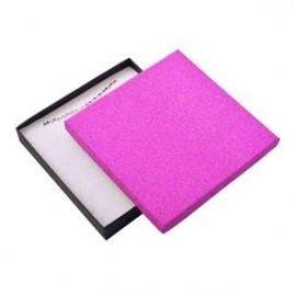 Velká krabička na soupravu šperků, růžová/černá