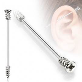 Industrial piercing - šroub, 1,6 x 35 mm
