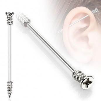 Industrial piercing - šroub, 1,6 x 35 mm