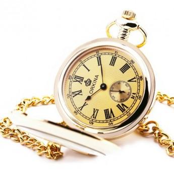 d1a040daeff Zlacené otevírací kapesní hodinky - cibule Hodinky