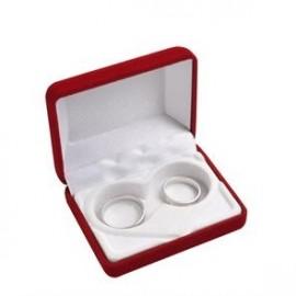 Luxusní dárková krabička na snubní prsteny