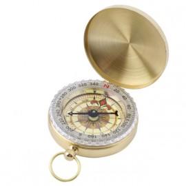 Kompas v uzavíratelném kovovém pouzdru
