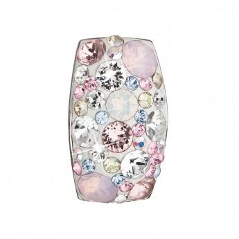 Stříbrný přívěšek Crystals from Swarovski®, Magic Rose