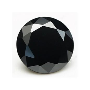 CZ Kubický zirkon - Black, pr. 1.5 mm