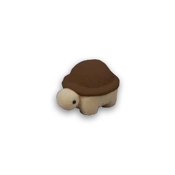 Dárková krabička semiš - želva hnědá/béžová