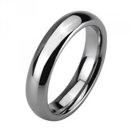 Wolframový prsten, šíře 4 mm