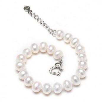 Perlový náramek z říčních perel
