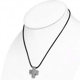 Wolframový přívěšek - kříž
