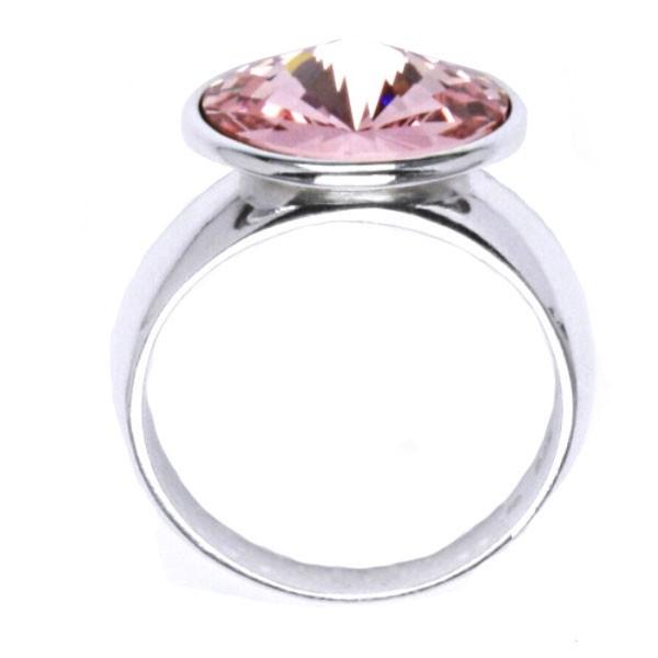 ... Stříbrný prsten s kamenem Crystals from SWAROVSKI® 4faca70e231