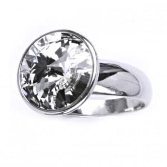 Stříbrný prsten s kamenem Crystals from SWAROVSKI® 7d58872312b